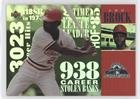 Lou Brock Baseball Card (Lou Brock (Baseball Card) 1998 All-Star FanFest Tribute to Lou Brock - [Base] #5)