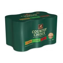Gelert Country Choice Variety Dog Food 6 X 1.2kg