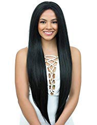 (Diana Brazilian Secret Human Hair Blend Lace Front Wig - HBW TIFFANY GIRL - RED WINE)