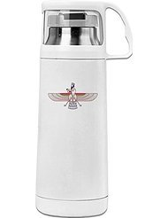 Faravahar Symbol Cool Thermos Vacuum Insulated Stainless Steel ()