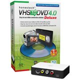 HONEST TECHNOLOGY VDD3M VHS TO DVD 3.0 DELUXE MINI BOX BY (Deluxe Vhs Dvd)
