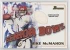 Mike McMahon (Football Card) 2001 Bowman - Rookie Jerseys #BJ-MMC ()