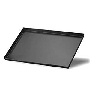 Fasa - Bandeja profesional rectangular de hierro antiadherente para horno eléctrico o de leñ