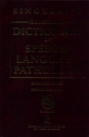 Singular's Illustrated Dictionary of Speech-Language Pathology (Book with CD-ROM)