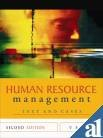 Human Resource Management, Decenzo and DeCenzo, David A., 047073311X