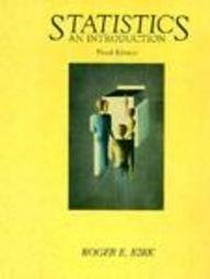 Statistics: An Introduction (The William James centennial series)