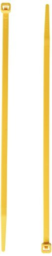 C2G/Cables to Go 43210 Nylon Cable Ties (Yellow) [並行輸入品]   B075Q6Q6WJ