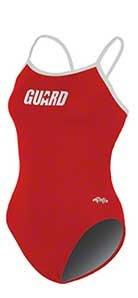 Dolfin Guard Varsity Solid String Back Suit