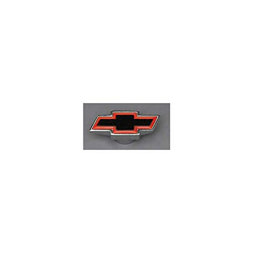 Ecklers Premier Quality Products 57136176 Chevy Air Cleaner Wing Nut Bowtie Logo Chrome Small
