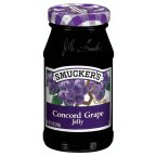 Smuckers Concord Grape Jelly 12 OZ (Pack of 24) by Smucker's