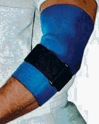 Sportaid, Elbow Brace, Neoprene Support, Blue, 1 ea, Large