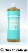 Dr Bronner's Organic Pure-Castille Liquid Soap - Unscented - 4 oz