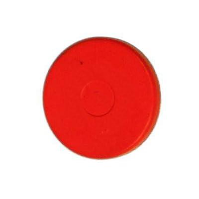 Replacement Hub Cap Red Plug 1-1/8 Wheel Hub Plug: Automotive