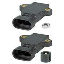Honeywell RTP090HVNAA Hall-Effect Rotary Position Sensor, External Actuator, 90° (±45°), Vs 10-30V, NA 3-Pin, Non-ratiom Output: 0.5 V Left, 4.5 V Right, Housed Magnet, Linearity: ±2%