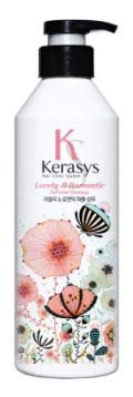 KERASYS Lovely & Romantic Perfumed Shampoo 600ml -The Rich Vitamin of Sun-Kissed Basil and The Daisy's Subtle Fragrance Keeps Your Hair Vibrant and Healthy