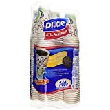 16 oz paper cups - Dixie Perfectouch Insulated Paper Hot Cup, Coffee Haze Design, 140 Count