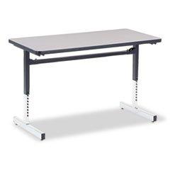 Tables 30h Nebula Gray (Virco, Inc. - Table,Computer 24X48,Gy,S)