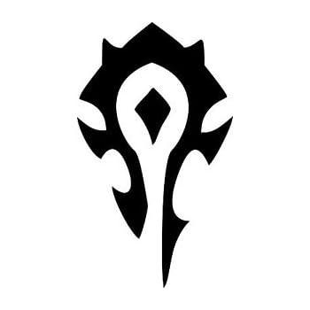 Amazon World Of Warcraft Horde Symbol Vinyl Decal Stickerred