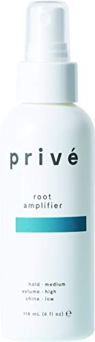 Privé Root Amplifier - Extreme Lift at the Roots, Weightless Volume & Fullness, and Soft Control (4 Fluid Ounces / 118 Milliliters)
