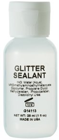 Jolie Glitter Sealant - Face & Body Glitter Sealer 1 oz.