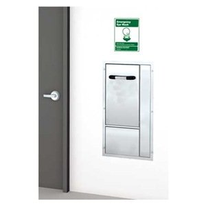 ADA Eye/Face Wash Station, Recessed, SS