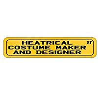 Wall Street Costume Designer (Heatrical Costume Maker And Designer St - Occupations - Street Sign [ Decorative Crossing Sign Wall Plaque ])