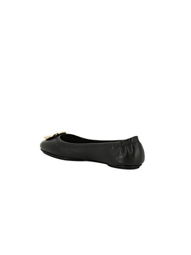 Burch 32880002 Leather Tory Flats Women's Black BxqFw