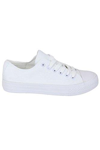Damen Sneaker, schwarz - schwarz - Größe: 40 Kebello