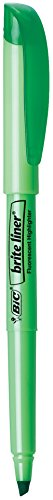 BIC Brite Highlighter Chisel 12 Count