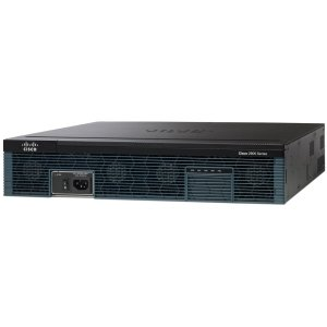 Cisco 2951 Integrated Services Router - 3 Ports - Yes - PoE Ports - 13 Slots - Gigabit Ethernet - 2U - Rack-mountable - ()