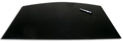 (Dacasso Black Arched Desk Pad, 34 by 24 Inch)