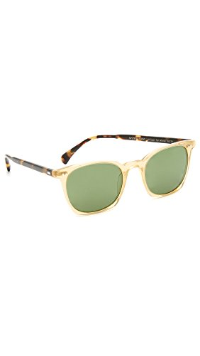 Oliver Peoples Eyewear Men's LA Coen Sunglasses, SLB/VDTB/Green, One Size (Peoples Oliver Sunglasses)