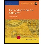 Introduction to ASPNET(2nd, 05) by [Paperback (2004)]