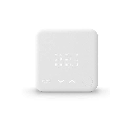 tado° Termostato Inteligente Cableado Kit de Inicio V3+ – Control inteligente de calefacción, Instálalo tú mismo…