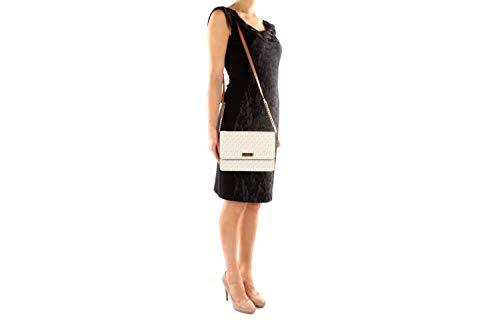 8bfef23730a9 Michael Kors Gusset Ladies Large Coated Twill Crossbody Handbag 32F7GF5C9B
