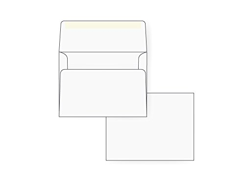 A2 Invitation Envelope - 24# White (4 3/8 x 5 3/4) - Announcement Envelope Series (Box of 1000) (A2 Announcement)
