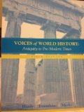 voices of world history: antiquity to pre-modern times, B. Carmon Hardy, 0618463291