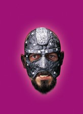 Disguise Costumes Executioner Vinyl Chinless Mask,