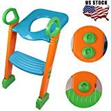 NEW Potty Training Seat with Step Stool Ladder for Child Toddler Toilet Chair