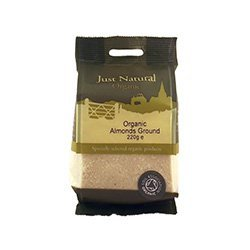 Just Natural Organic Ground Almonds 220g