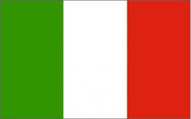 Italy National Tricolor Flag by Italy by Italy