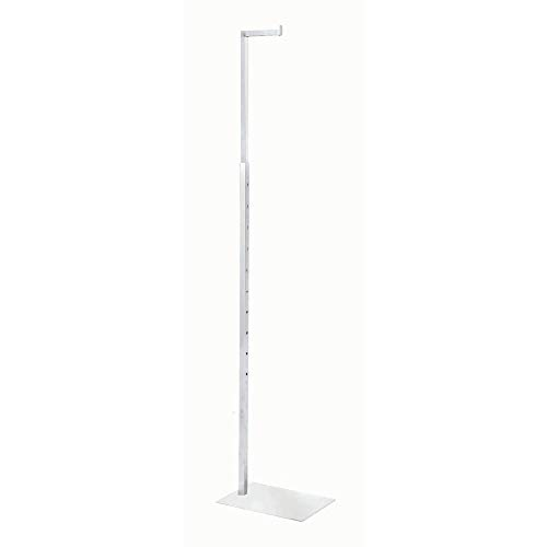 "Clothing Display Stand 49-78"" (H) White"