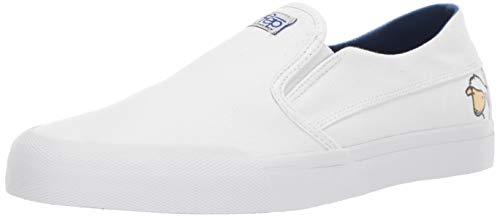 Etnies Men's Langston X Sheep Skate Shoe, White/Blue, 8 Medium US All White Skate Shoes
