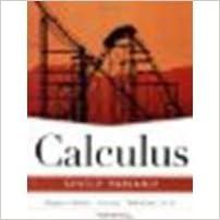 Applied calculus 4th edition (binder version) by hughes-hallett.