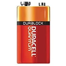 Quantum Alkaline Batteries with Duralock Power Preserve Technology, 9V, 12/Pk by COU