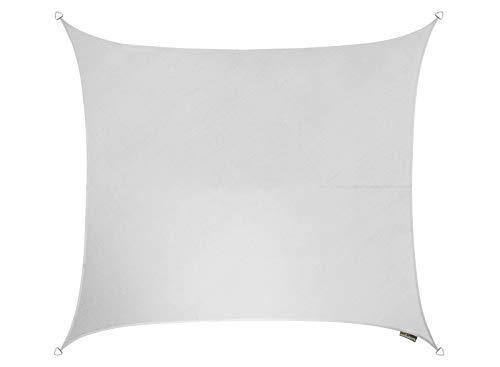 Kookaburra Breathable Party Sun Sail Shade – Polar White – 17ft 9 Square
