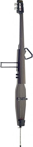 Lucky Penny EDBLX-DBR Brown Deluxe 3/4 Electric Upright Double Bass w/Gig Bag by Lucky Penny