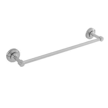 Newport Brass 29-02 24 Solid Brass Towel Bar from the Miro and Bevelle Collecti, Polished Nickel by Newport Brass