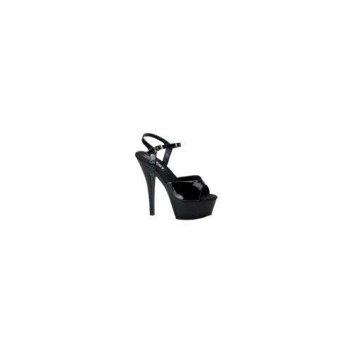 Sandales Juliet Pleaser 209 Noir Femme Plateforme xBEEgwSnr