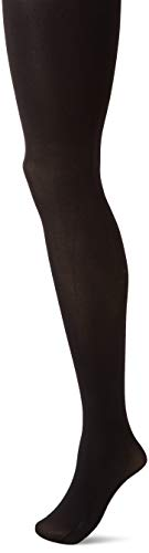 (Hanes Silk Reflections Women's Hanes Blackout Tights, black,)